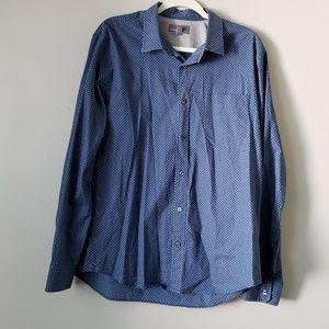 Vince | Men Career Wear Button Down Dress Shirt